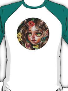 Wild Flower :: Pop Surrealism Little Scamp T-Shirt
