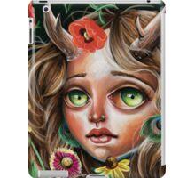 Wild Flower :: Pop Surrealism Little Scamp iPad Case/Skin