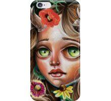 Wild Flower :: Pop Surrealism Little Scamp iPhone Case/Skin