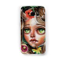 Wild Flower :: Pop Surrealism Little Scamp Samsung Galaxy Case/Skin