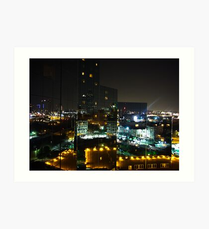 Mirrored City Art Print