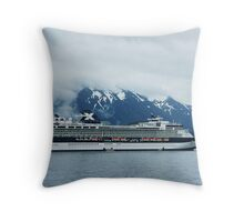 Celebrity Cruise Ship 'Infinity'  Throw Pillow