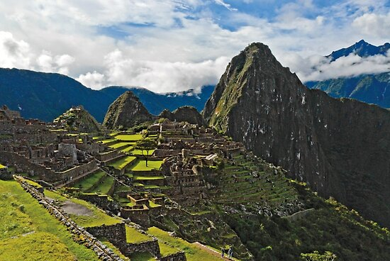 Machu Picchu Archeological site in Peru by Konstantinos Arvanitopoulos