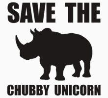 Chubby Unicorn Rhino Kids Clothes