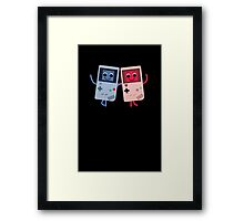 Game Girls and Boys Framed Print