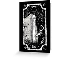 Magia Greeting Card