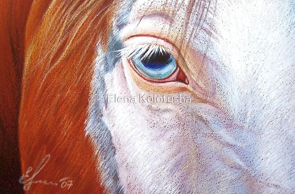 Paint close-up by Elena Kolotusha
