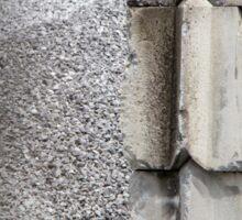 Concrete Blocks Sticker