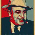 Al Capone Poster  by trev4000
