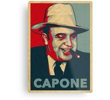 Al Capone Poster  Metal Print