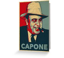 Al Capone Poster  Greeting Card