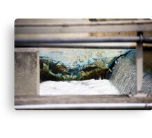 Sewer Water Canvas Print