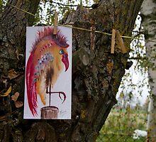 """Mr. Bird"" - exhibition by Anna Miarczynska"
