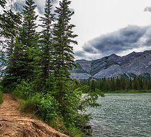 Bow River, Alberta Canada by mindymcgregor