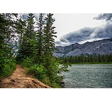 Bow River, Alberta Canada Photographic Print