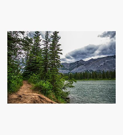 Bow River, Alberta Canada Photographic Print