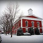 Iron County Courthouse in the Snow by Susan S. Kline
