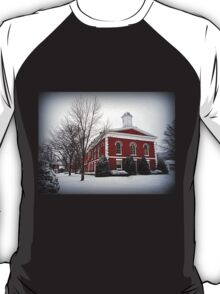 Iron County Courthouse in the Snow T-Shirt