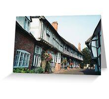 Malt Mill Lane, Alcester, Warwickshire Greeting Card