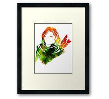 Windranger - Dota 2 Framed Print