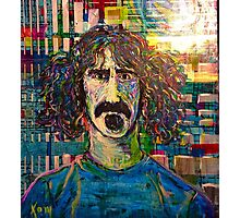 Zappa en regalia Photographic Print