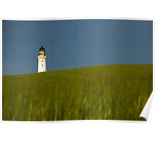 Scurdie Ness Lighthouse Poster
