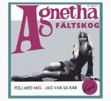 Agnetha's first single! by watertigerleo