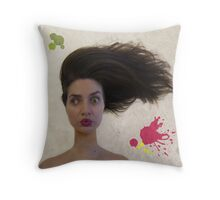 What? Where? Throw Pillow