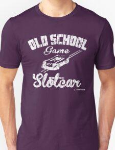 Oldschool game Slotcar white T-Shirt