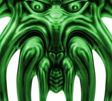 Cthulhu in Green Sticker