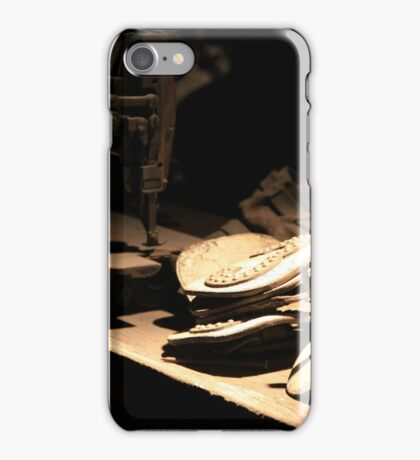 Sewing Leather iPhone Case/Skin