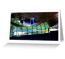 The Crumpled Building Barcelona Greeting Card
