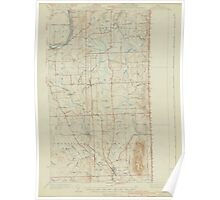Maine USGS Historical Map Mars Hill 306652 1940 62500 Poster