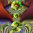 Alien Queen fractal by Dennis Melling