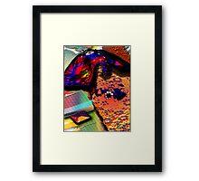NECKTIE ELECTIONS Framed Print