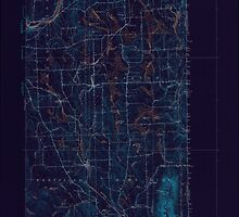 Maine USGS Historical Map Mars Hill 306653 1951 62500 Inversion by wetdryvac