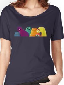 SHAPES & COLOURS Women's Relaxed Fit T-Shirt