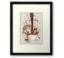 Coffee - Morning Caffeine  Framed Print