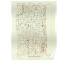 Maine USGS Historical Map Mars Hill 306653 1951 62500 Poster