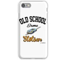 Oldschool game Slotcar iPhone Case/Skin