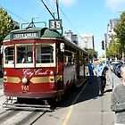 melbourne tram by goulhoy