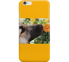 Sniff the Flowers iPhone Case/Skin