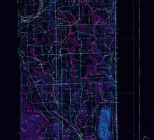 Maine USGS Historical Map Mars Hill 460592 1940 62500 Inversion by wetdryvac