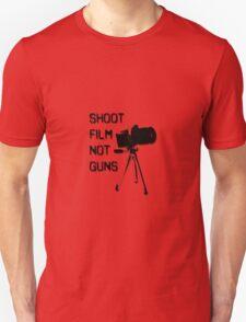 Shoot Film, Not Guns Unisex T-Shirt