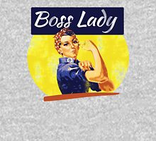 Boss Lady Rosie Riveter Womens Fitted T-Shirt