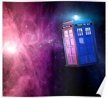 T.A.R.D.I.S. Galaxy Poster