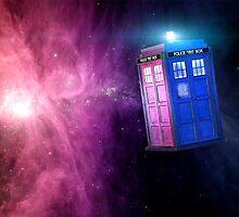 T.A.R.D.I.S. Galaxy by saneralu