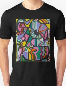 Yellow Lightning Unisex T-Shirt