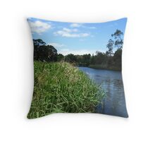 Herring Island Throw Pillow