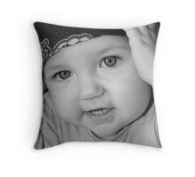 Bandana Babe Throw Pillow